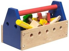 Melissa & Doug Wrench Wooden Tool Kit - 24 Pieces