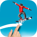 Snowboard Racing – Road Draw Sport Games icon