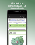 screenshot of Bulbapedia - Pokémon Wiki