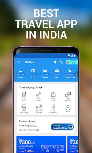 My Train: Live Status, IRCTC PNR Status & enquiry 3.7.0 screenshots 1