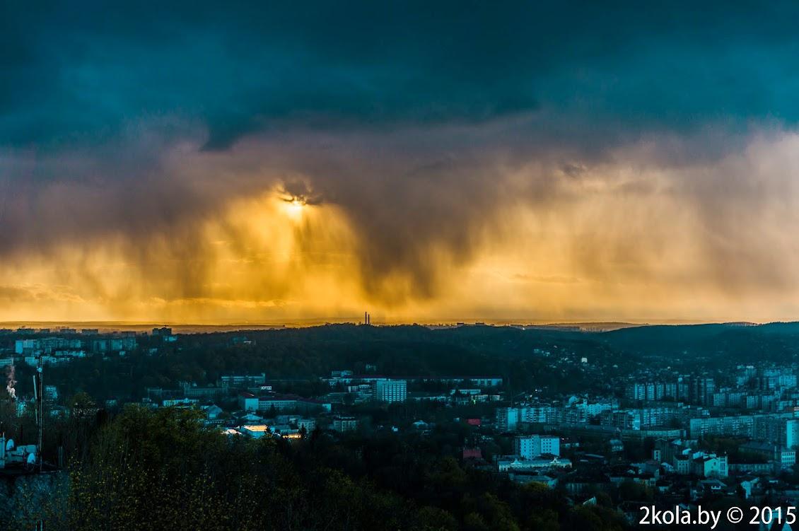 Фото Львов с замковой горы