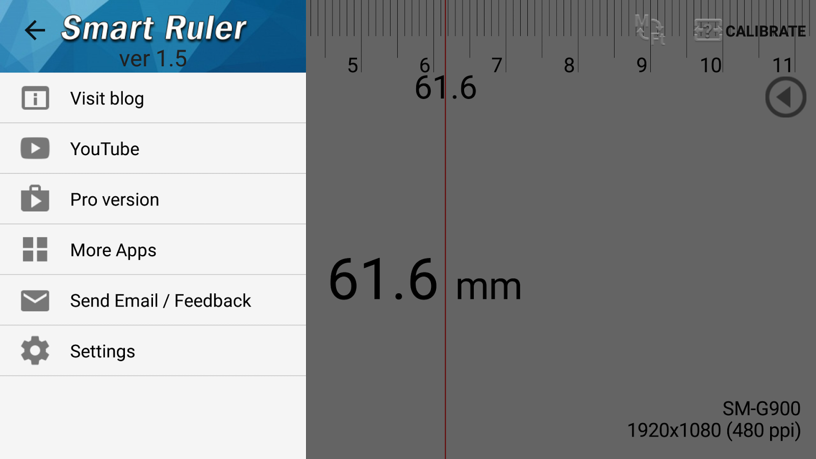 Smart Ruler- screenshot