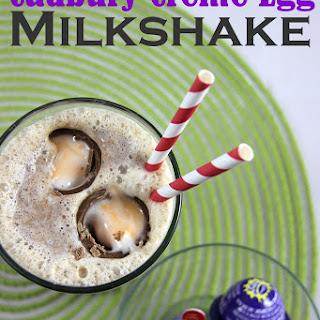 Cadbury Creme Egg Milkshake.