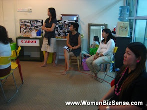 Photo: Krista, Siew Yean, Pam and Kristine.