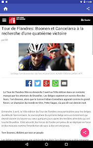 News In French screenshot 5