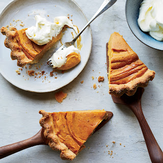 Sweet-Potato Pie with Cornmeal Crust