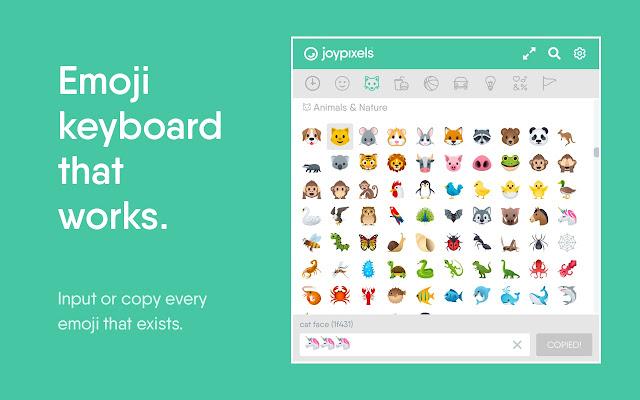 Emoji Keyboard by JoyPixels™