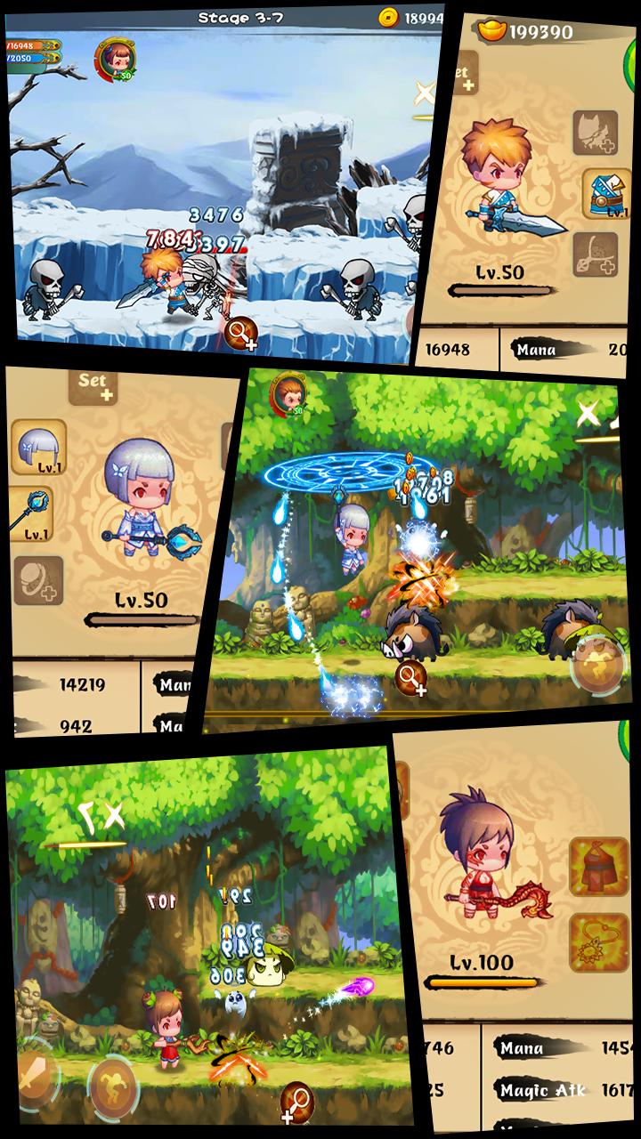 Soul Warriors \342\200\223  RPG Adventure Screenshot 1