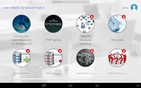 ... Learn SQL and MySQL- screenshot thumbnail ...