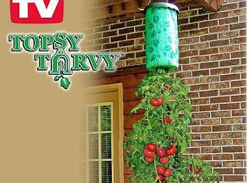Waynes Topsy Turvy Tomato Planter And Alternatives Just A Pinch