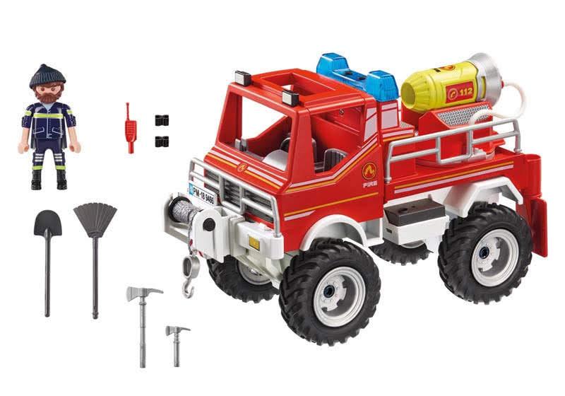 Contenido Real de Playmobil® 9466 Todoterreno