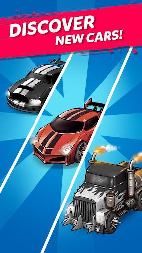 Merge Battle Car: Best Idle Clicker Tycoon game screenshots 4