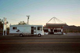 Photo: Unser Wohnmobil: 10 Meter lang und 2.50 breit