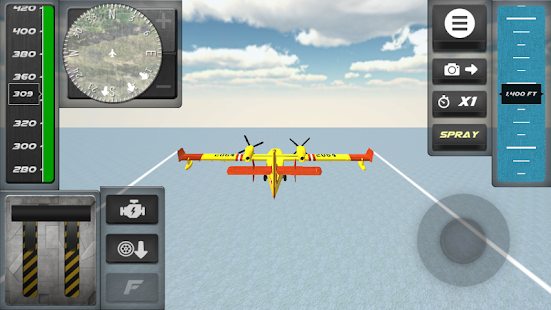 Airplane Firefighter Sim- screenshot thumbnail