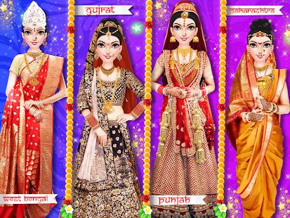 Indian Wedding Bride Salon Dress Up Makeover Screenshot Thumbnail