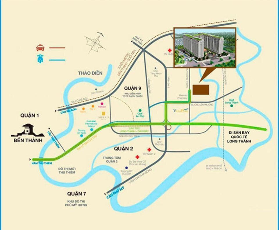 Quy hoạch dự án nhà ở xã hội River Tower quận 9