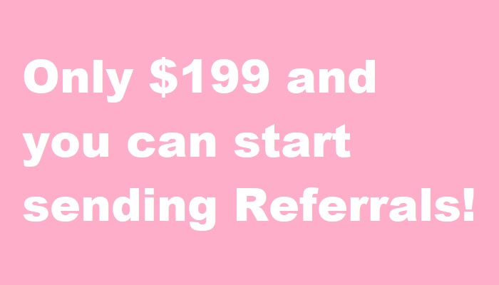 Start Sending Referrals