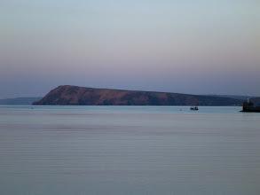 Photo: Dinas Head at sunset