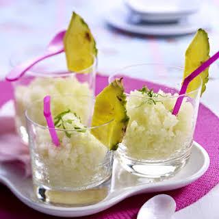 Frozen Mojito Cocktails.