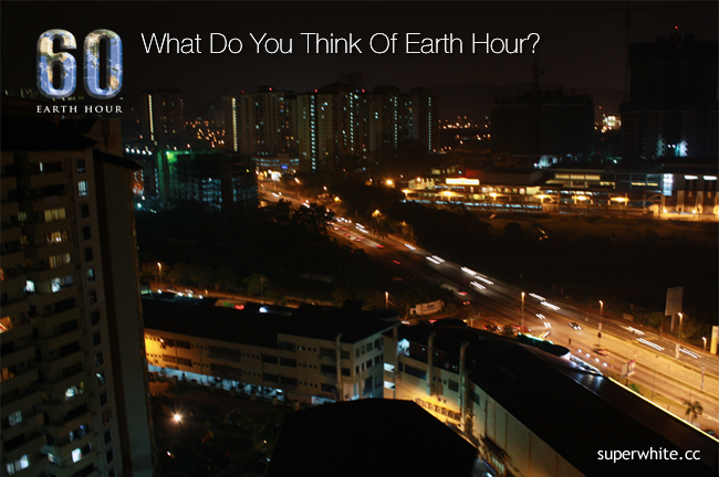 What Do You Think Of Earth Hour?