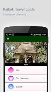 Rajkot: Offline travel guide - náhled