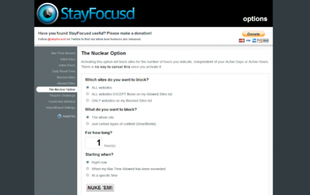 chrome extensions Stay Focused