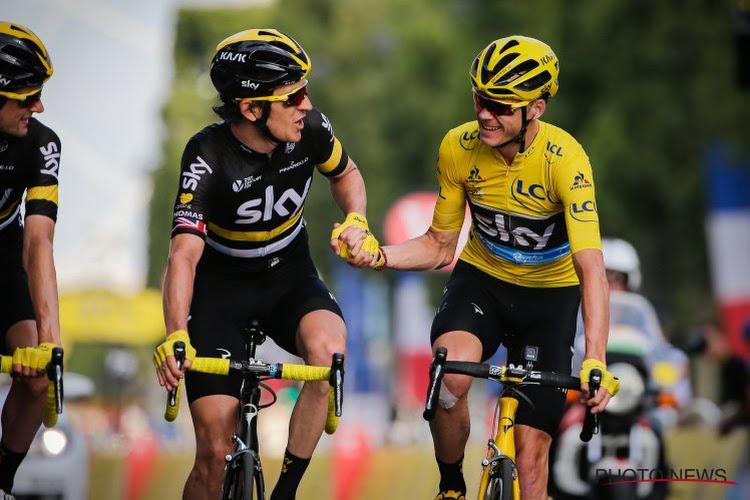 Geraint Thomas en Chris Froome dollen op social media en hebben heimwee naar 2015