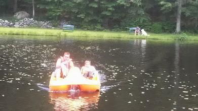 Photo: Paddleboat Races