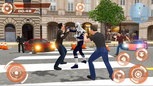 Flying Hero Iron Spider VS Mafia Fighter Adventure 2.3 screenshots 6