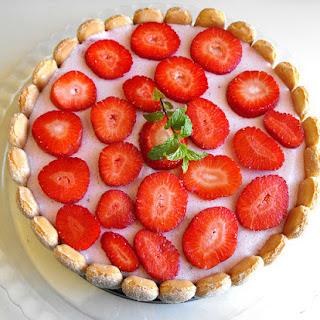 Red Fruit Cake.