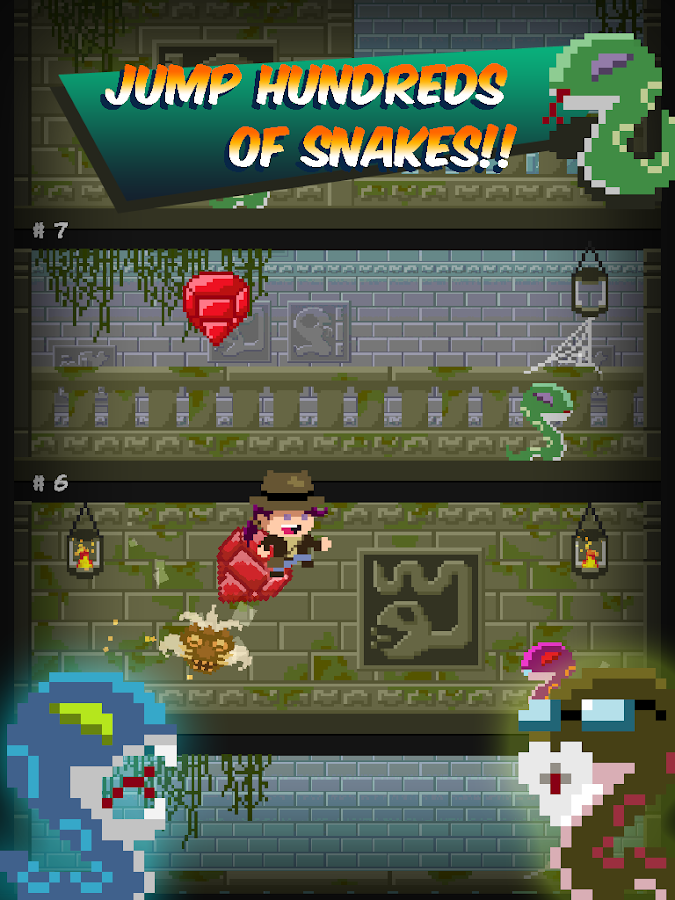 Indie Jane and the Snake Tower- screenshot