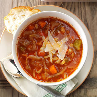 Italian Cabbage Soup.