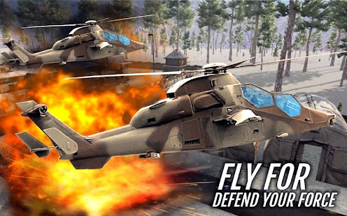 Gunship Battle Strike 3D: Modern War Air Attacks- screenshot thumbnail
