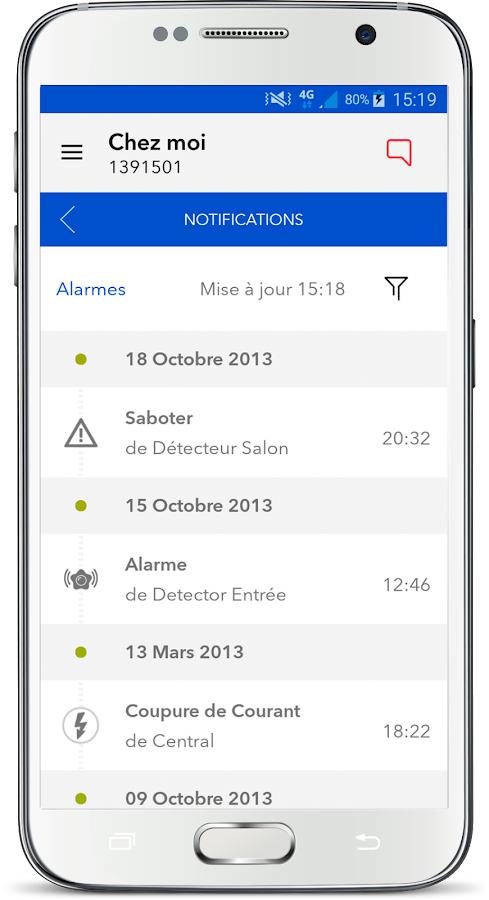 My verisure applications android sur google play - My verisure application ...