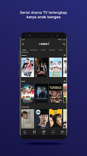 Vision+ : Nonton TV & Film Streaming modavailable screenshots 7