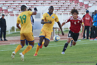 Photo: [Rwanda Vs Libya World Cup 2018 Qualifier, 13 Nov 2015 in Sousse, Tunisia.  Photo © Darren McKinstry 2015]