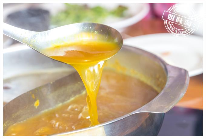 上竹林食草館養生汆燙鍋-薑黃湯底