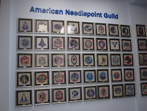 Photo: Mission emblems from the ANG