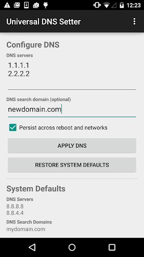 Configure DNS all versions