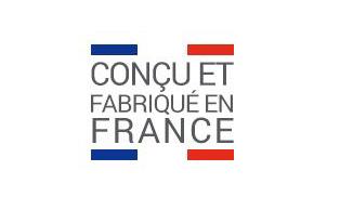 LOGO CONCU ET FABRIQUE EN FRANCE