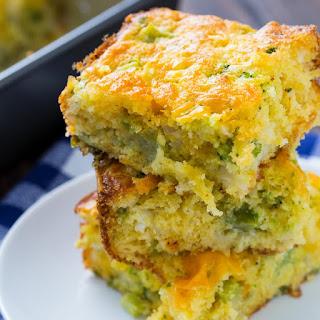 Cheesy Broccoli Cornbread.