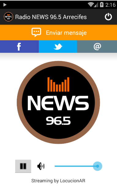 Radio NEWS 96.5 Arrecifes- screenshot