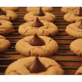 Peanut Butter Kisses Cookies.
