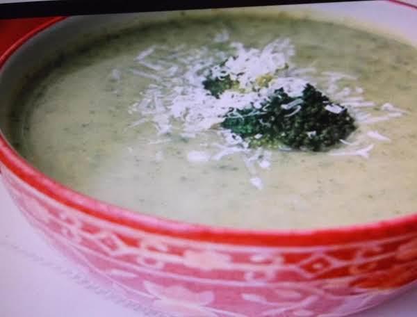 Broccoli Apple Soup With Rice Recipe
