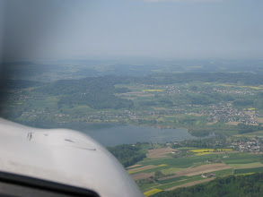 Photo: The plains of Switzerland are not many but you can find one once in a while http://www.swiss-flight.net