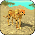 Wild Cheetah Sim 3D icon