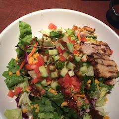 Fast chicken salad