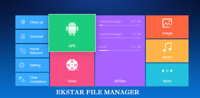 Ekstar Dateimanager