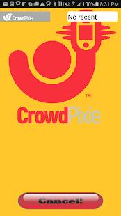 CrowdPixie - náhled