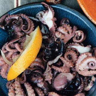 Baby Octopus Salad Recipe